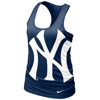 New York Yankees Women's Loose Fit Racerback Tank by Nike - MLB.com Shop