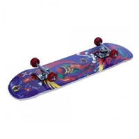 COOLGO Large Tooth Stickers Maple Deck Complete Skateboard,ship from US