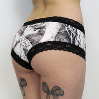 Luckless Clothing Co | Snow Camo Boy Short Panties