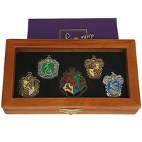 Hogwarts House Pin Set by Noble Collection |