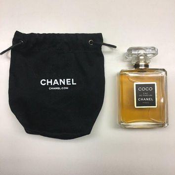 DCK4S2 Coco Chanel Eau De Parfum, 3.4 oz/100ml with Chanel bag