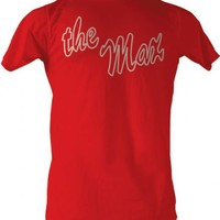 Saved By The Bell The Max Logo Adult Red T-shirt - Saved by the Bell - | TV Store Online