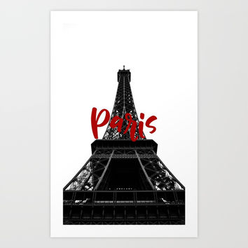 Paris Art Print by ArtEscape