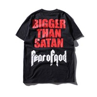 T Shirt Men Fear Of God