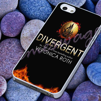 Divergent Veronica Roth Cover - iPhone 4 4S iPhone 5 5S 5C and Samsung S3 S4 Case