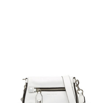 Recruit Chipped Studs Small Saddle Bag - Marc Jacobs