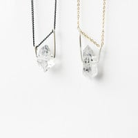 Asymmetrical Tibetan Quartz Necklace