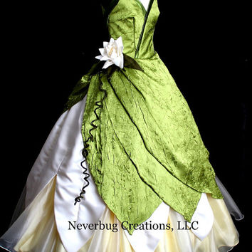 Princess and the Frog Custom Parks Costume