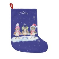 Personalized little frozen owls warm clothes