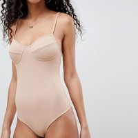ASOS DESIGN crinkled strappy body at asos.com