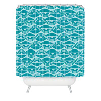 Heather Dutton Lazy Days Shower Curtain
