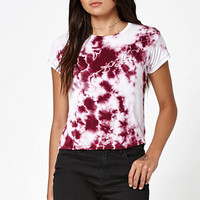 LA Hearts Too Lit Tie-Dye Skimmer T-Shirt at PacSun.com