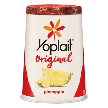 Yoplait Original Pineapple Yogurt, 6 oz - Walmart.com