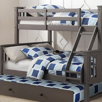 Anthony Twin over Full Bunk Bed with Trundle