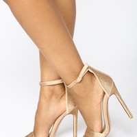 Queen Of Success Heel - Nude