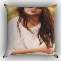 selena gomez Y0636 Zippered Pillows  Covers 16x16, 18x18, 20x20 Inches