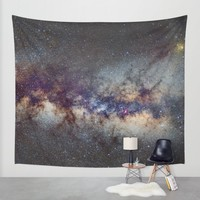The Milky Way: from Scorpio and Antares to Perseus Wall Tapestry by Guido Montañés | Society6
