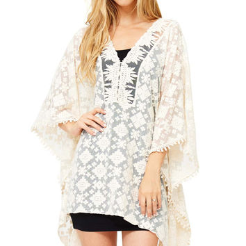 Stellar Embroidered Tunic Top