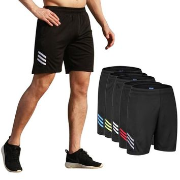 Men running Shorts Pants soccer training jogging sports fitness hiking tennis basketball football shorts sweatpants zipper pocke