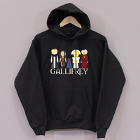 gallifrey Funny design long sleeved hooded Unisex adult