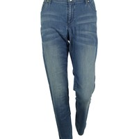 INC International Concepts Women's Regular Fit Skinny Jeans