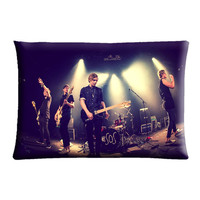 "SOS 5 Second of Summer - Case cover pillow 30"" X 20"" Two Side"