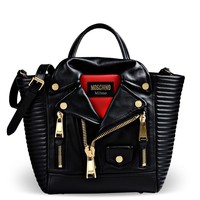 Large Leather Bag Women - Moschino Online Store