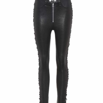 Kiku leather trousers