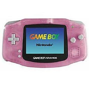 Fuchsia Game Boy Advance System used