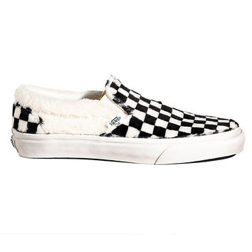 Sherpa Checkerboard Slip-On | Shop At Vans