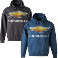 Chevrolet Bowtie Hooded Sweatshirt-Chevy Mall