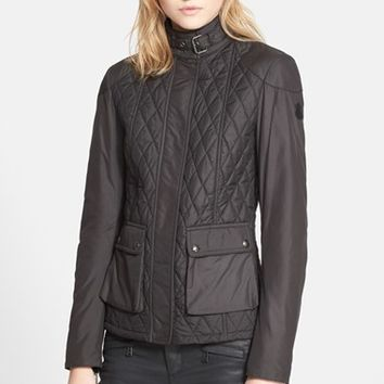 Women's Belstaff 'Aynsley' Lightweight Tech Quilted Jacket