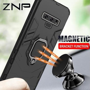 Armor Shockproof Cellphone Case With Holder For Samsung Galaxy