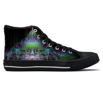 Shambhala by Sam and Cate Farrand - High Top Canvas Shoes