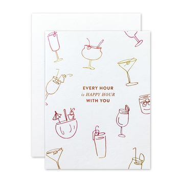 THE SOCIAL TYPE HAPPY HOUR CARD