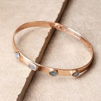 Light The Way Labradorite Bangle