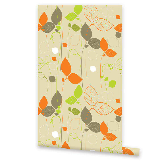 Self adhesive floral wallpaper removable from Floral peel and stick wallpaper