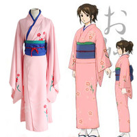 Gintama Shimura Tae kimono costume carnival cosplay anime kimono costume halloween costumes for women cartoon character costumes