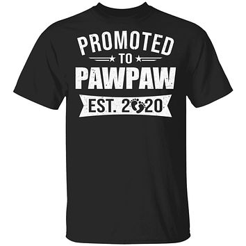 Vintage Promoted to PawPaw Est 2020 First New Grandpa Gift