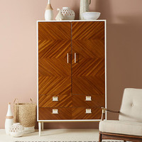 Geo-Marquetry Armoire