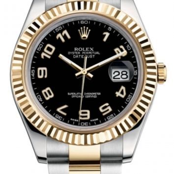 Rolex - Datejust II 41mm - Steel and Yellow Gold - Fluted Bezel (116333)