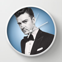 JUSTIN TIMBERLAKE Wall Clock by Hands in the Sky