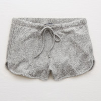 Aerie Plush Short, Dark Heather