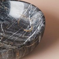 Black Marble Decorative Object