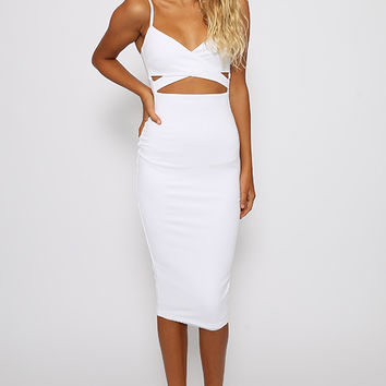 Nookie - Heidi Bodycon Dress - White