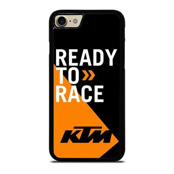 KTM READY TO RACE iPhone 7 Case Cover