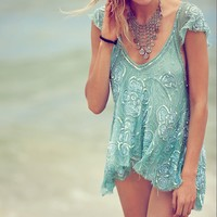 Free People Tritan's Treasure Top