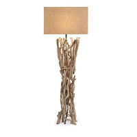 Explorer Drift Wood Floor Lamp