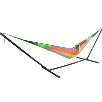 Sunnydaze Decor Multi Color Family Mayan Hammock with Stand