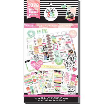 Create 365™ The Happy Planner™ Watercolor Value Pack Stickers
